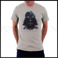 Free shipping AIRCRAFTS STAR WARS DARTH VADER T-shirt top lycra cotton Fashion Brand t shirt men new DIY high quality