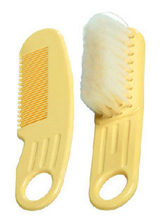Chick kaldi baby child comb brush set massage scalp 75g