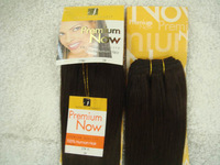 "Free Shipping  premium now straight hair human hair blend weave blended hair 16"" 18"" 20"" 2# 5pcs"