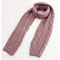 W106 yarn scarf female ultra long thickening lovers muffler scarf cape twist scarf