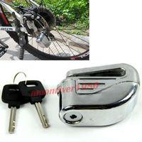 A31 Hot Sale 6mm Motorcycle Motorbike Security Brake Disc Safety Lock Alarm With 2Keys Free Shipping