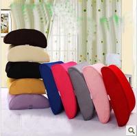 Rebound memory cotton net surface breathable cushion/velvet chair cushion/waist pillow/waist cushion/office car pad/back cushion