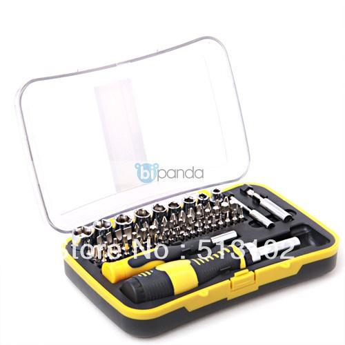65 socketcombination screwdriver ratchet screwdriver with sleeve screwdriver set(China (Mainland))