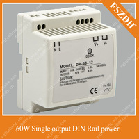 45W 5V 5A Din Rail Single Output Switching power supply