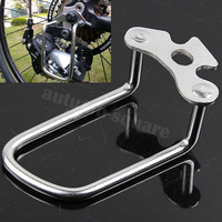 Free Shipping silver Bike Bicycle Rear Transmission Protector Device Speed Changer Pull Rack Tool
