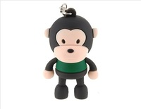 2GB Monkey Mini Flash Drive (Black)