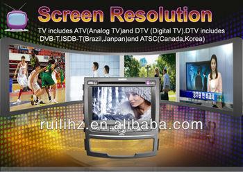 Ssangyong Korando/New Actyon Car DVD GPS Navigation System 7 inch 2 din Free Navitel map