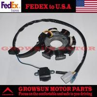 FedEx Free Shipping Scooter Parts GY6 50cc Magneto Set 8 coil For GY6 50cc/60cc/80cc/100cc  139QMA/139QMB Engine