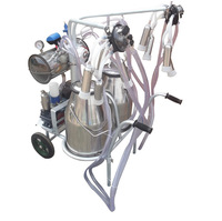 """Double 2 Bucket"" Vacuum Goats Sheep Cow milking machine, by aircargo"