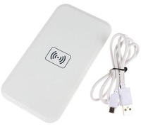 Free Shipping!White Qi Wireless Charger Charging Pad Receiver Kit for Samsung Galaxy S4 SIV i9500