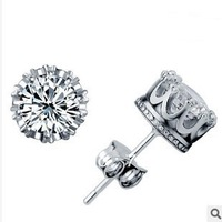 Free shipping, Wholesale and retail 925 silver earring,fashion earring,the new 2013 earring