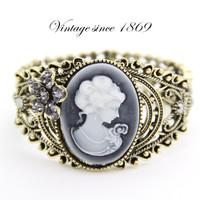 Free Shipping Fashion accessories royal vintage beauty head bracelet national trend wide bracelet female cb009