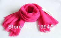 Baby 100% Cotton Scarf Girls and Boys Candy Color Scarves Autumn- Spring Pashmina For Infant and Toddler Kids Scarf 6pcs/lot