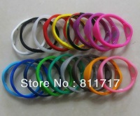 100pcs/lot  Power Bracelets Sport Bands Energy Wristbands  , 33 Colors 5 Sizes For Choose , Free Shipping