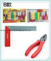 One Set Plastic Educational  Mini Repair Tools Toy Set For Kids Pretend Play,Kids Carpenter Tools Set,Free Shipping