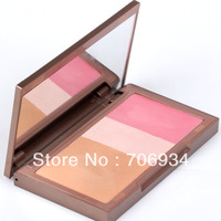 Blush Brand Makeup Transport Makeup Maccosmetics New 2013 1pcs 3 Colors Pink Blush Mineral Blusher Easy Sleek Cosmetics Blush