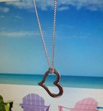 cheap girls heart necklace