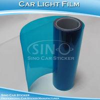 "SINO CAR STICKER 0.3x10M 12""x394"" Free Shipping Dark Blue Auto Headlight Protection Sticker/Car Headlight Color Change Film"