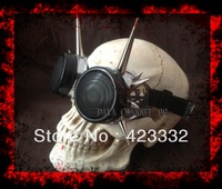 45321Handmade retro steampunk goggles. Barbed type, whimsy, banquet, gothic goggles. Unique in the world.12345