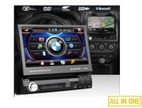 1-Din 7-inch all in one car DVD player for TOYOTA