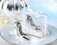 A Perfect Fit! Chrome Slipper Opener wedding favor