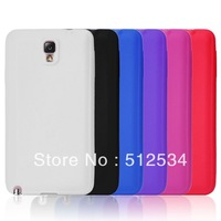 100pcs/lot Free Shipping super slim silicone case for samsung galaxy note 3