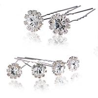 Best Hair Jewelry Wholesale Diamond Jewelry Bridal Accessories Girls Hair Barrettes Headdress KH501