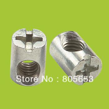 Furniture cross head hammer nut barrel nut (N2611)