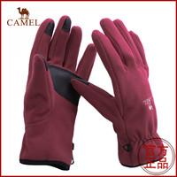 Camel outdoor skiing off-road unisex windproof gloves shoutao