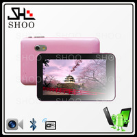 Newest Android4.2 7inch AllWinner A20 Dual core 1.5GHZ Capacitive Screentablets 512MB/4G