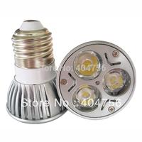 E27 3W,85-265V,LED spot light bulb for down light