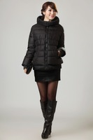 2012 vlasta short design slim thickening plus size casual Women down coat