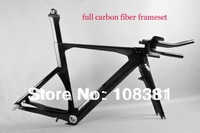 New design full carbon tt frame, time trial carbon bicycle frame triathlon FM087