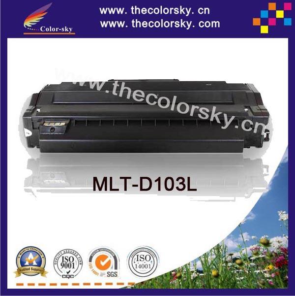 (CS-S103) BK печатать верхний премиум картридж для Samsung mltd103l mltd103 mlt103 ML2955ND ML2955DW SCX4729FD SCX4729FW powder for samsung mlt d 205 s els scx 4835fr mlt 205 s xil mltd 2053 l xaa drum cartridge photocopier powder free shipping