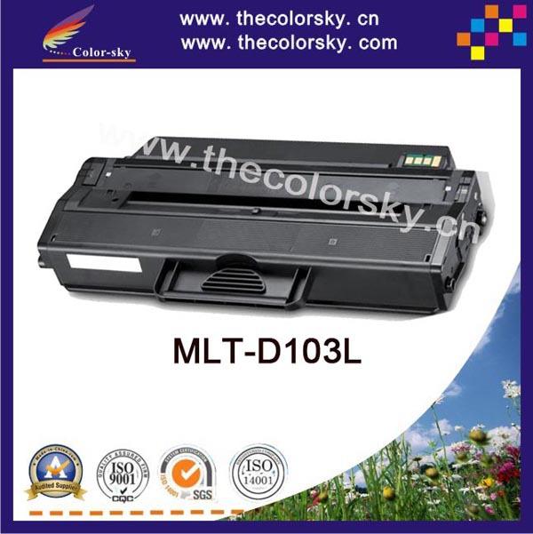 (CS-S103) тонер-картридж для Samsung mlt-d103l mlt-d103 mlt-103 ML-2955ND ML-2955DW SCX-4729FD SCX-4729FW (2500 Страниц) powder for samsung mlt d 205 s els scx 4835fr mlt 205 s xil mltd 2053 l xaa drum cartridge photocopier powder free shipping