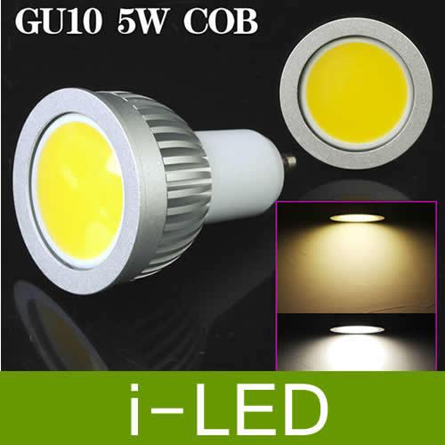 30p/lot dimmable COB 5W gu10 e27 mr16 e14 Led Spot Light Bulb 500 LM Cool / Warm White Led Downlight Lamp 110-240V(China (Mainland))
