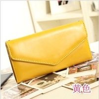 Free shipping 2013 new Korean envelope hand bag phone purse women's fashion wallet