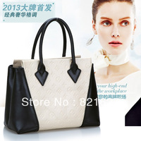 2013 new fashhion Retro cowhide leather  woman lady  genuine leather bag handbags wholesale price factory price Europe