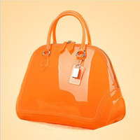 Orange Mint Green Black Light Orange Lake Blue Women 6 Colors Clear Wedding Jelly Candy Handbags Purse Messenger Bags