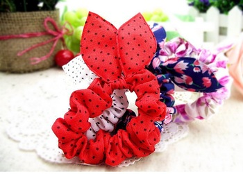 TS165 Lovely Cute Rabbit Ear Hairband  Head Jewelry! Wholesales AAA!!!  Free Shipping