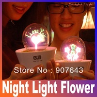 Romantic Fireworks Night Light Flower LED Lamp Artificial Grass Potted Plants kids Night Lighting Best Gift lover star master