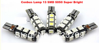 Super Bright 13pic SMD Canbus Light T10 Led White 5050