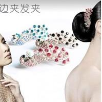 TS168 Hot!!! New Fashion Peacock Hairpins Head Jewelry Wholesales Hairclips Free Shipping