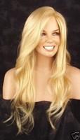 2013 European Hair New fashion long Blond brown women wig wigs  Free Shipping