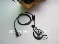 Free shipping Ear Hook earphone for walkie talkie UV-5R BF-888S BF-UV3R+ TG-UV2 KG-UVD1P with K port 10pcs /lot