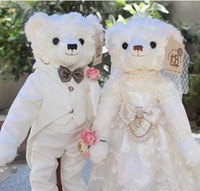 Christmas gift wedding gift teddy bear plush toy couple teddy bear freeshipping