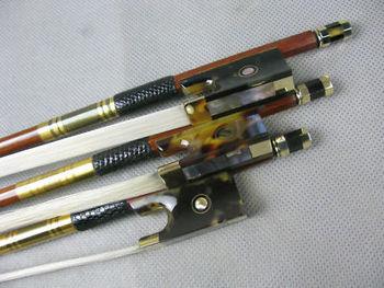 3pcs of best brazil wood professional Violin bow
