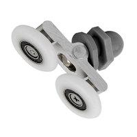 Shower room pulley bathroom roller glass door wheels arc shower room wheel swing round