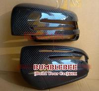 Carbon Fiber Car Rear Mirror Cover rear view mirror shell  For BENZ E, E200L E260L E300L E350  (replacement mirror shell) KK300