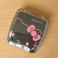 hello kitty Containers for contact lenses Contact lenses partner 10pcs/lot factory supply freeshipping